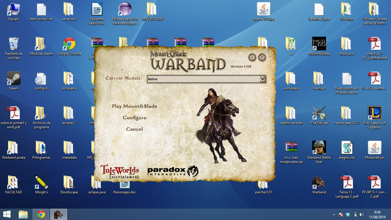 Solucion a error RGL o RUNTIME warband KuOtY